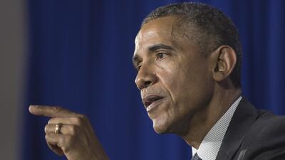Obama defiende a las minorías y a la policía
