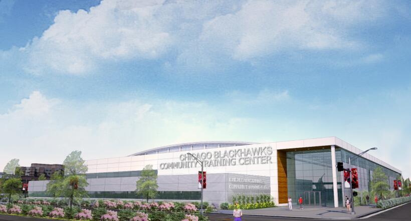 Nuevo Centro de prácticas de los Blackhawks