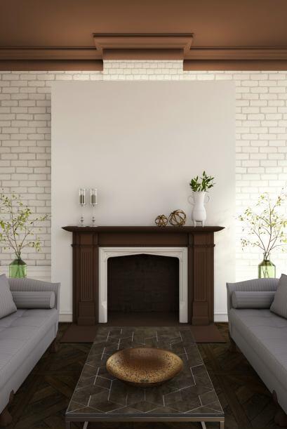 Los muebles son típicos de las décadas del '50 y del '60, y abundan la l...
