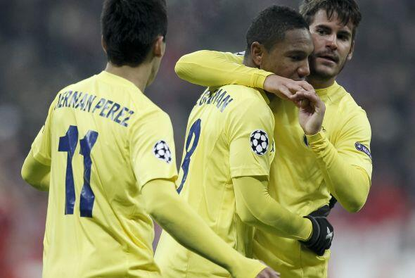 El Villarreal reaccionó para descontar con una diana de Jonathan De Guzman.