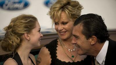 La hija de Antonio Banderas y Melanie Griffith no quiere ser actriz.