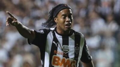 Ronaldinho Gaucho jugó la última campaña con el Atlético Mineiro de Brasil.