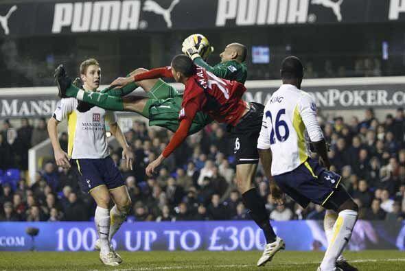 El Tottenham derrotó 2-0 al Fulham.