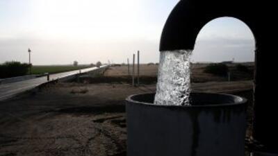 Sequía en California.