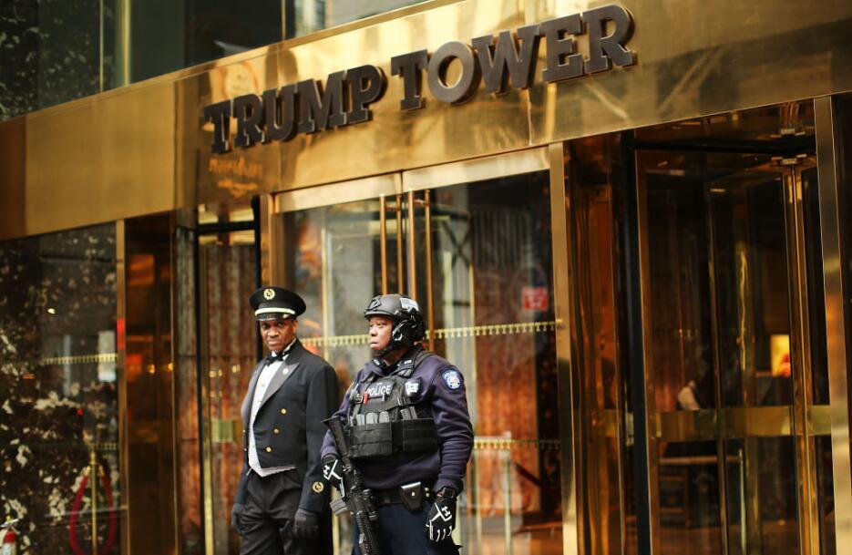 Varios oficiales del Departamento de la Policía de la ciudad de Nueva Yo...