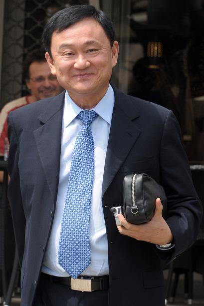 El ex primer ministro de Tailandia Thaksin Shinawatra también está en es...