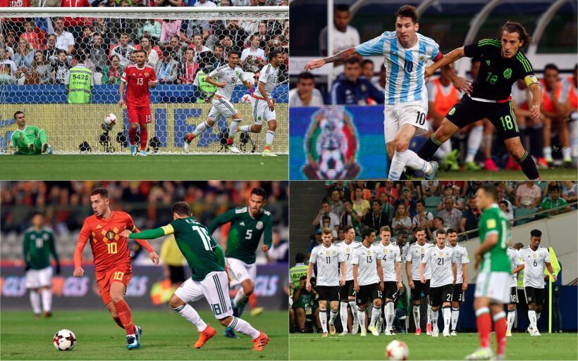 El Tri se mantiene como el mejor equipo de Concacaf en el Ranking FIFA r...