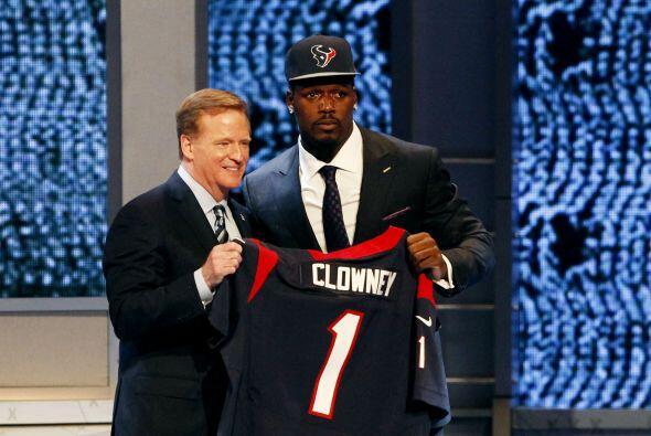Los Houston Texans abrieron el Draft 2014 de la NFL como se esperaba, el...