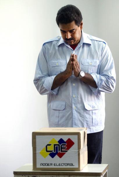 Maduro, de 50 años, fue nombrado por Chávez pocos meses antes de morir c...
