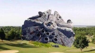 Meme accidente de avión de Harrison Ford. (Foto: Twitter)