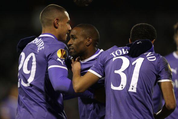 Al final, el Tottenham se impuso por 4-0, pero no fue suficiente.