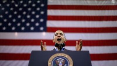 Leve ventaja de Obama en tres estados indecisos según encuesta.