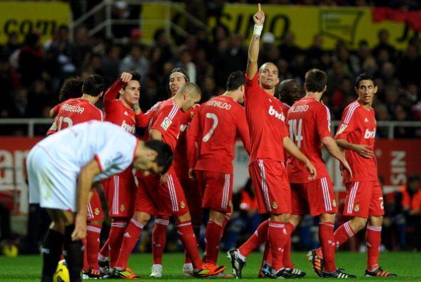 Real Madrid le ganó por goleada 6 a 2 al Sevilla, en un partido  donde a...