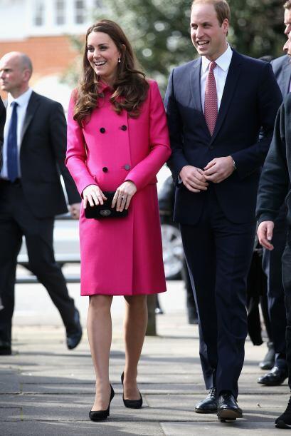 La Duquesa espera su segundo bebé para mediados o finales de abril.