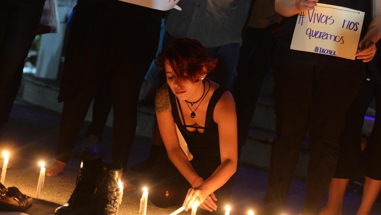 Las salvadoreñas también se han unido a los movimientos de protesta que...