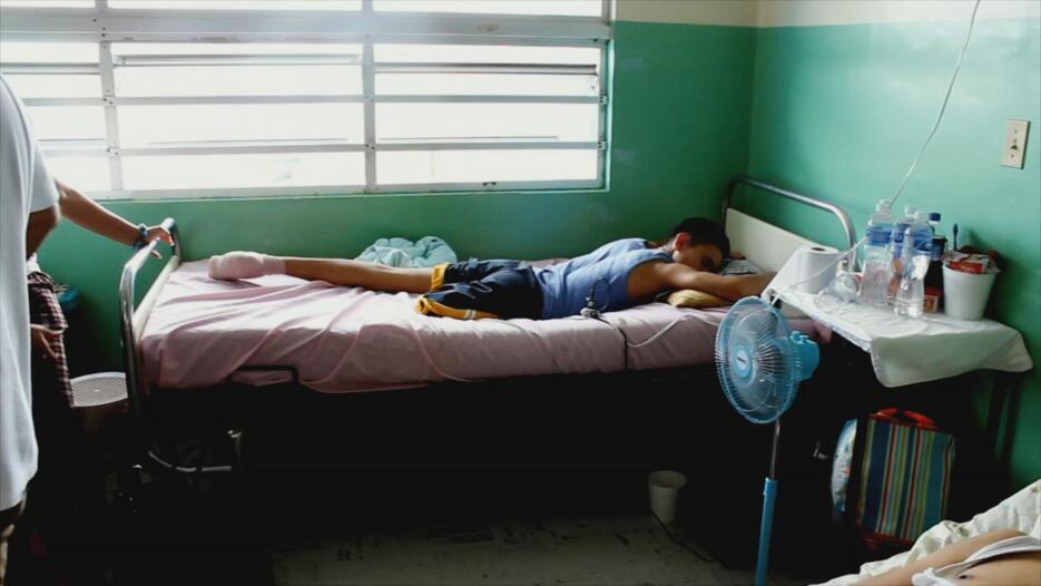 Andrés permaneció dos días en coma, luchando por su vida. Su delicado es...