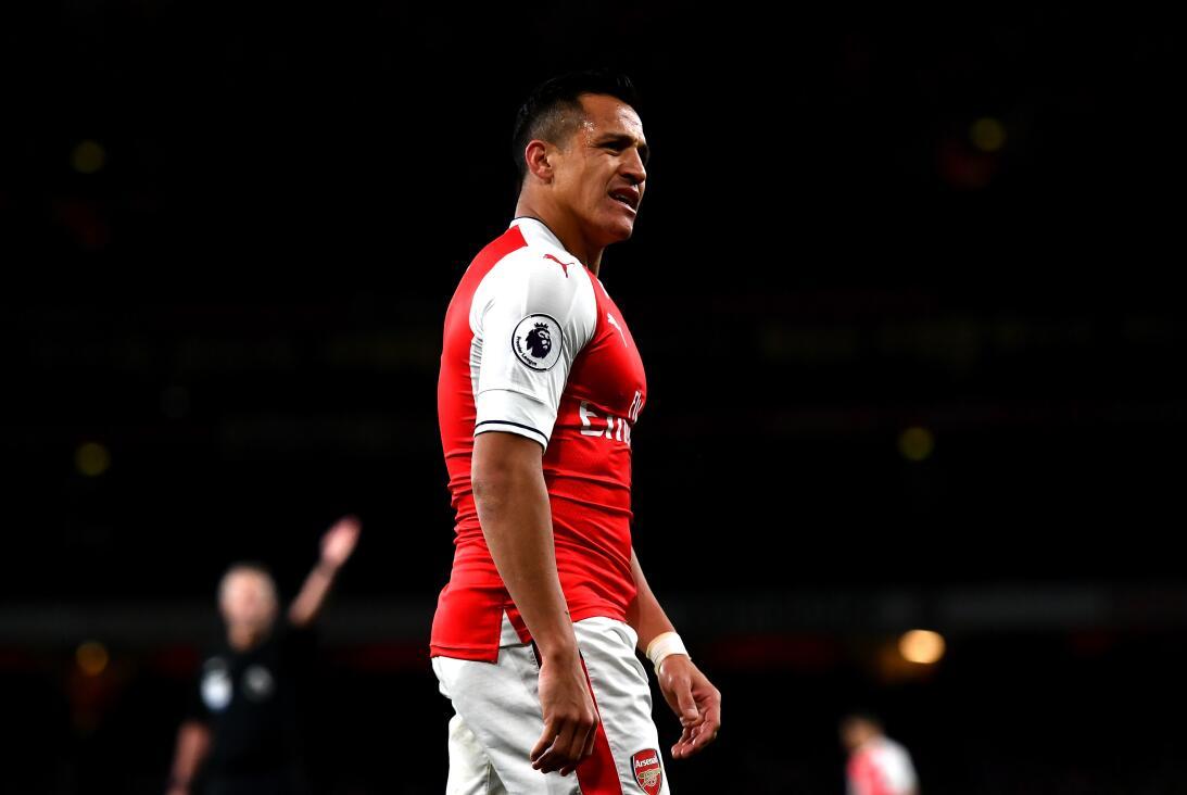 Alexis Sánchez (Arsenal F.C.) - El 'Niño Maravilla' jugó su prim...