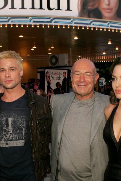 """¡Angelina Jolie! Con ella actuó en """"Mr. and Mrs. Smith"""" en 2005, y todos..."""