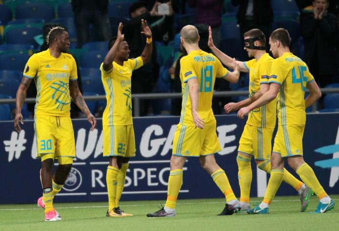 Astana 4-0 Maccabi Tel Aviv: el equipo kazajo logró su primer triunfo en...