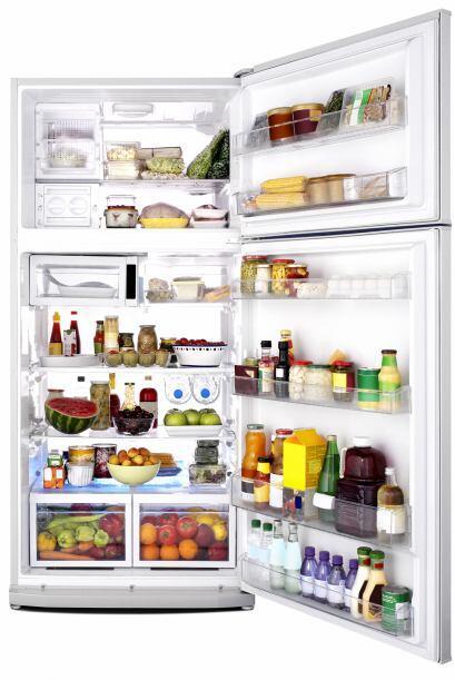 Las puertas del refrigerador, son la parte más cálida y deben ser reserv...