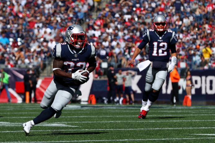 Los Patriots igualaban 30-30 ante los Panthers con menos de dos minutos...