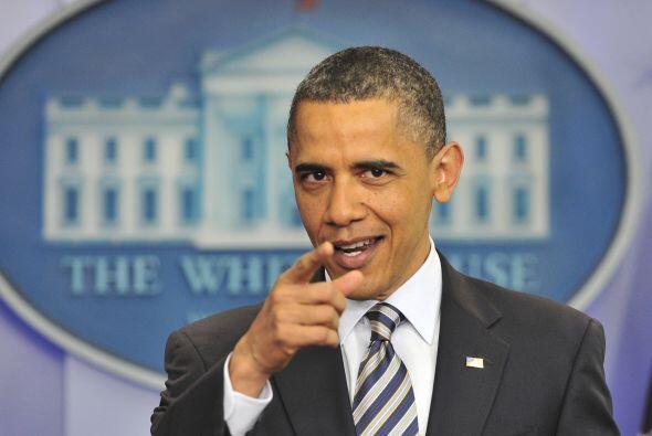 El presidente Obama dijo el miércoles que está perplejo ante las teorías...