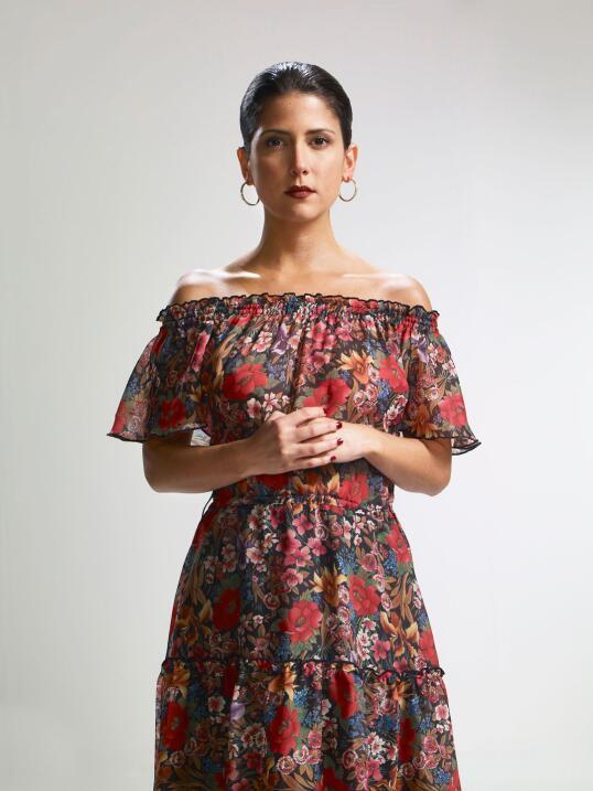 Valentina Acosta es Alejandra en la serie 'El Chapo'.