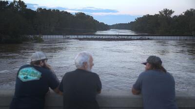 Más de una decena de ríos a punto de desbordarse en las Carolinas tras el paso de Florence