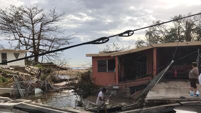 En fotos: Así está el municipio de Mayagüez después del paso de María