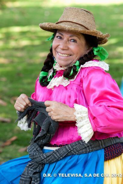 Y María Elena Velasco, la India María, que nos hará reír con sus ocurren...