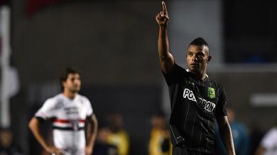 Atlético Nacional da un paso firme a la final de la Libertadores al vencer a Sao Paulo