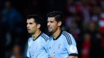 Nolito y Alex López anotaron en la goleada del Celta.