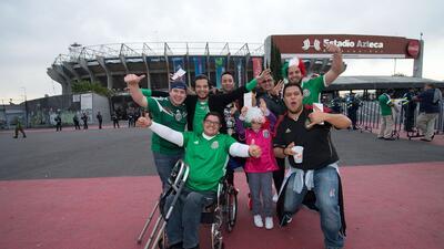 El Aztecazo fue verde y lo dio México: Así fue el color del partido