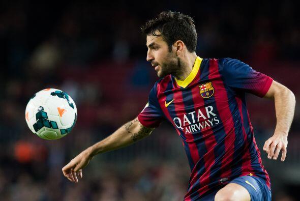 Cesc Fábregas (6): Su movilidad durante la primera parte fue de lo mejor...