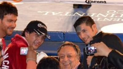 Sánchez y González no pelearán (Foto: Facebook)