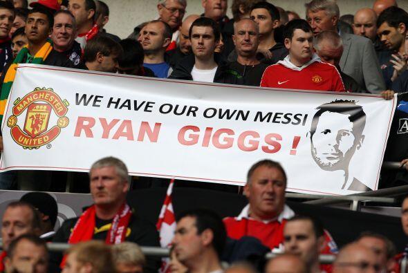 Huy, algunos fanáticos del 'Man-U' aseguraron que en Ryan Giggs tienen a...