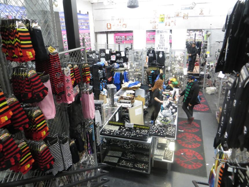 The Alley, la tienda de prendas roqueras cerró sus puertas después de má...