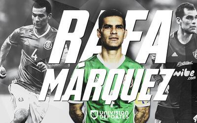 Rafa Márquez es uno de los futbolistas mexicanos más grand...