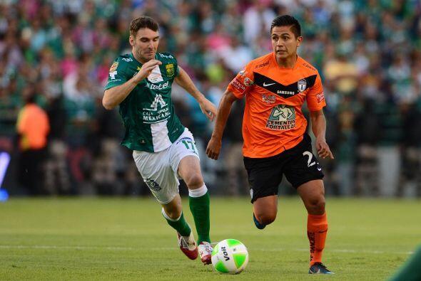 Mauro Boselli.- El delantero de León también metió gol en una final para...