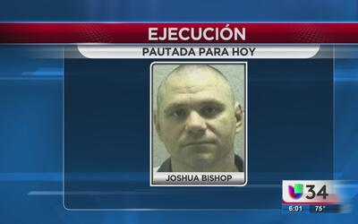 Alistan ejecución de Joshua Bishop en la prisión de Jackson