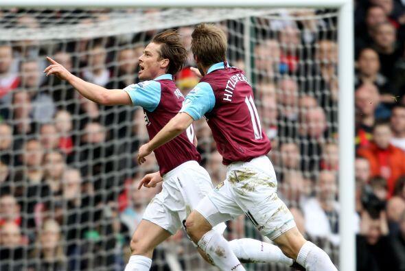 Parker, hombre clave en el West Ham, abrió el marcador en la victoria de...