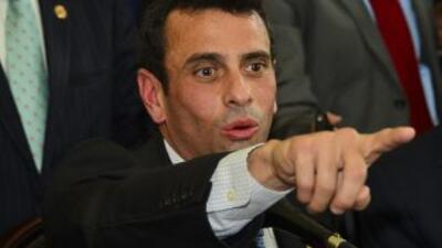 El opositorHenrique Capriles en Colombia.