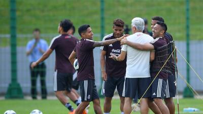 Felicidad pura: el entrenamiento de México luego de derrotar a Alemania en el Mundial