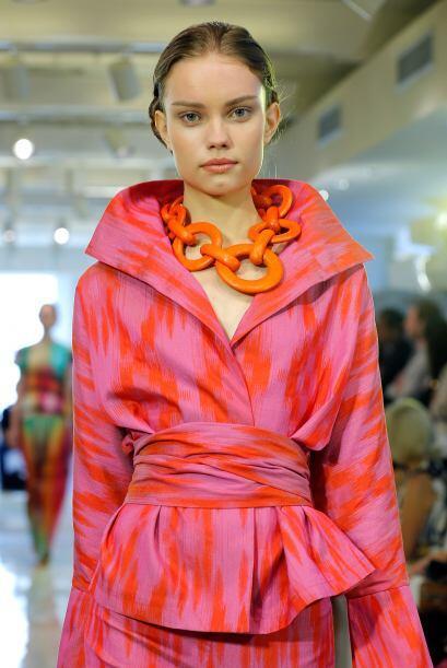 Josie Natori en el Fashion week de NY nos mostró que no todo tiene que s...