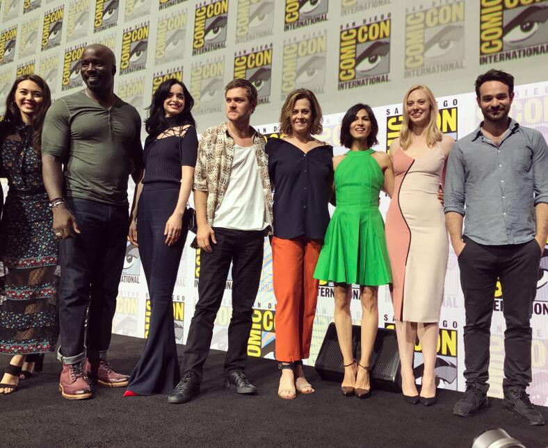 En esta nueva serie de Marvel que une a Daredevil, Jessica Jones, Luke C...