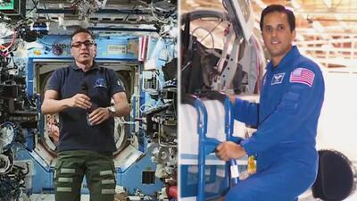 El astronauta boricua Joe Acaba platicó desde la Estación Espacial Internacional con Univision Los Ángeles