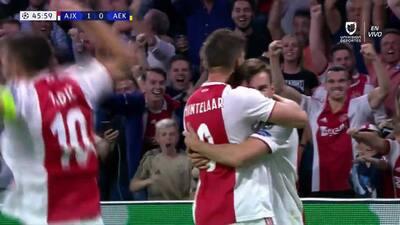 ¡GOOOL! Nicolás Tagliafico anota para Ajax
