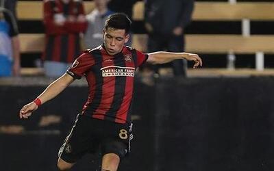 Ezequiel Barco debutó como goleador de Atlanta United con una peq...