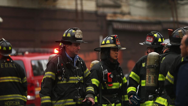 Explosión edificio NY