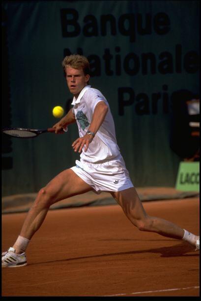 El sueco Stefan Edberg empata con Boris Becker en títulos ganados. Con s...